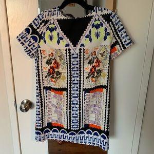 Glamorous - Printed T-Shirt Mini Dress